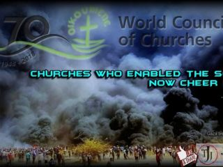 CHURCHES WHO ENABLED THE SOVIETS NOW CHEER HAMAS ...by Dexter Van Zile
