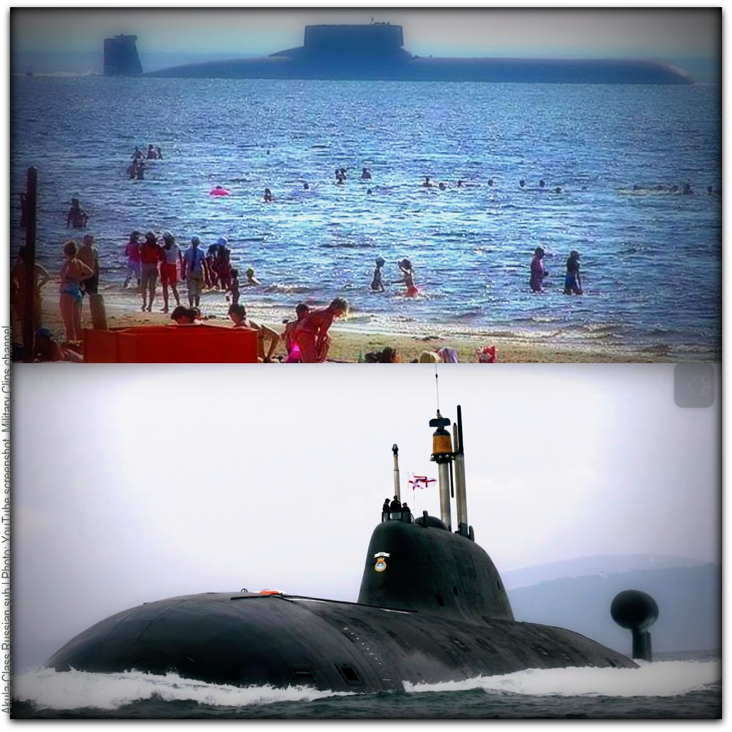 Akula class sub Photos YouTube screenshot Military Clips channel