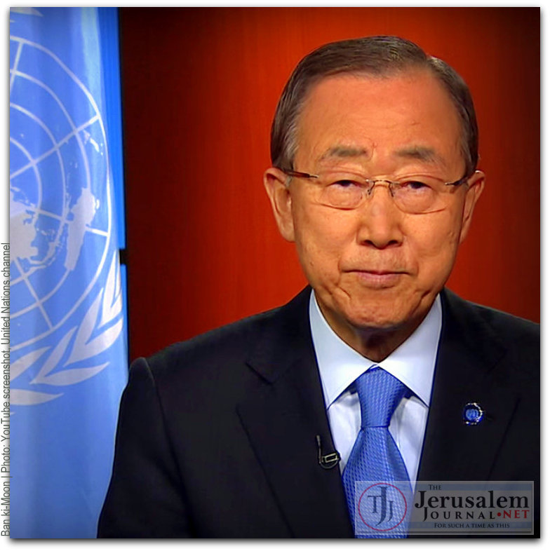 Ban ki Moon Photo YouTube screenshot United Nations channel LOGO