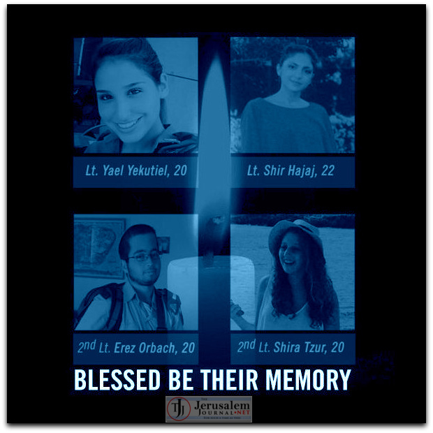 Blessed be their memory Photo Twitter IDFSpokesperson account LOGO