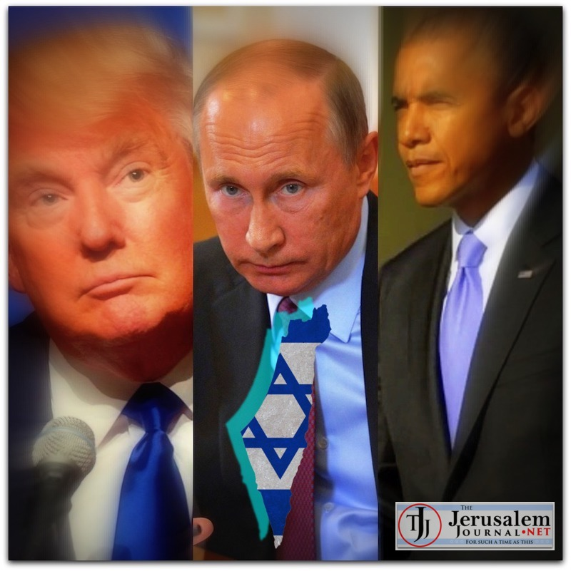 Collage Trump Putin Obama Photo YouTube screenshots LOGO