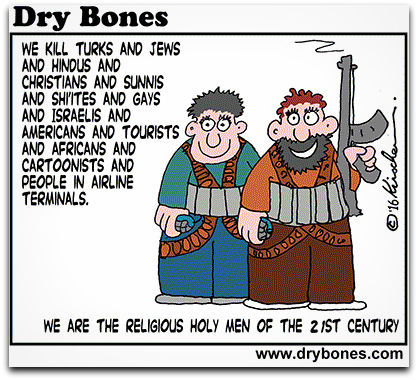 DRY BONES: Religious men of the 21st century