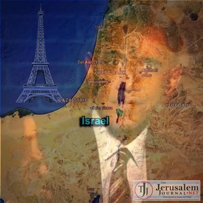Israel map with Obama gone rogue mocking Trump on Kimmel show Photo YouTube screenshot NFS channel LOGO