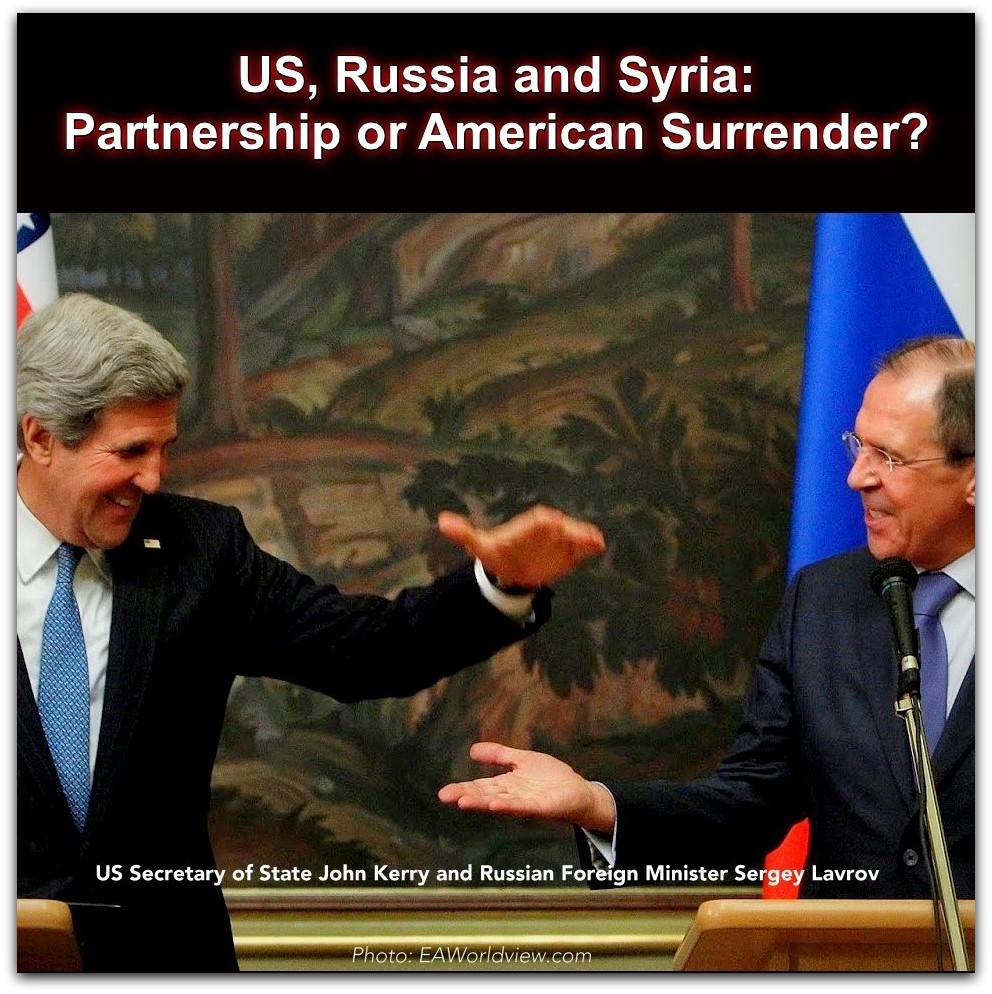Kerry happy with Lavrov Photo by EAWorldView.com