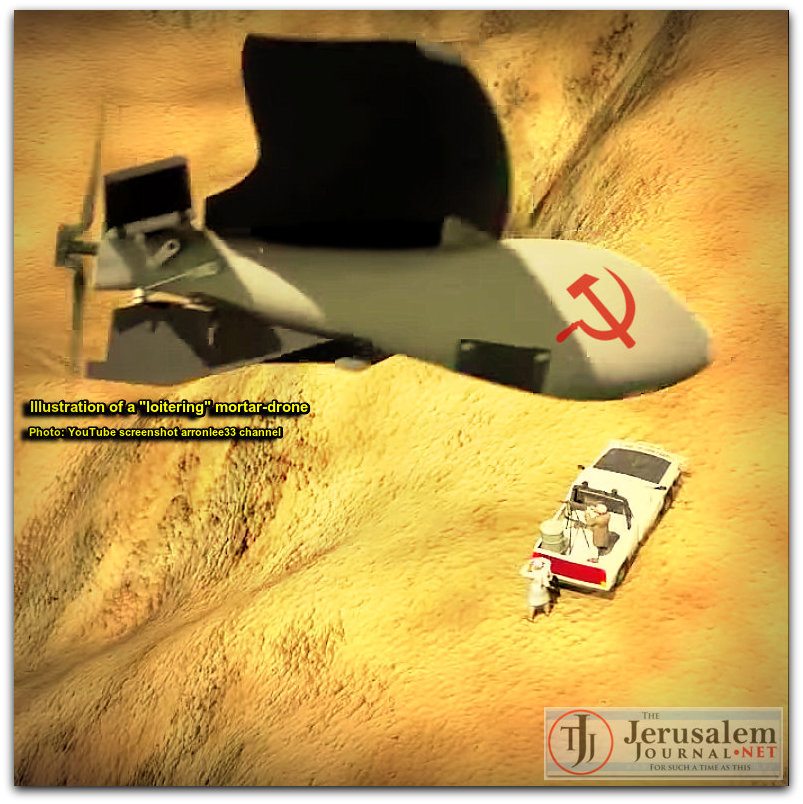 Loitering mortar drone illustration Photo YT screenshot arronlee33 channel LOGO 2