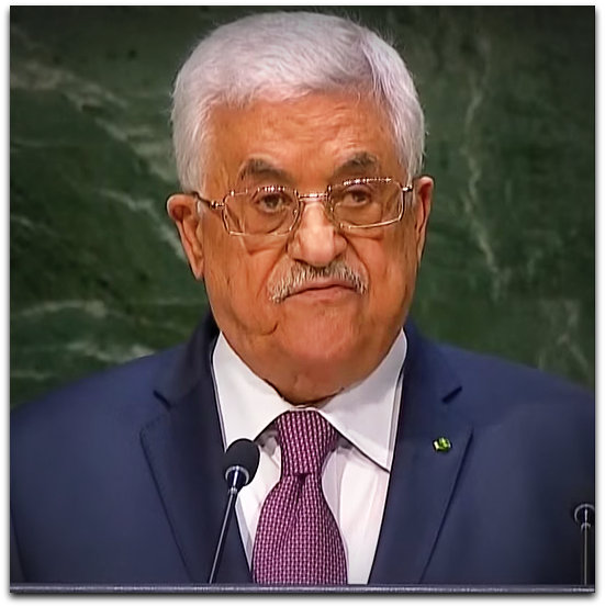 Mahmoud Abbas speaking at the UN on 26 Sept 2014 | Photo: YouTube screenshot RT channel
