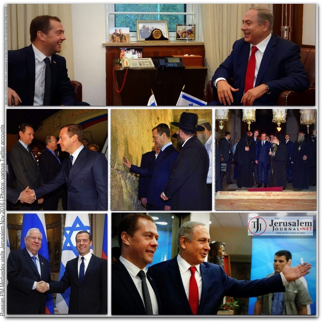 Medvedev montage Photos Twitter accounts LOGO