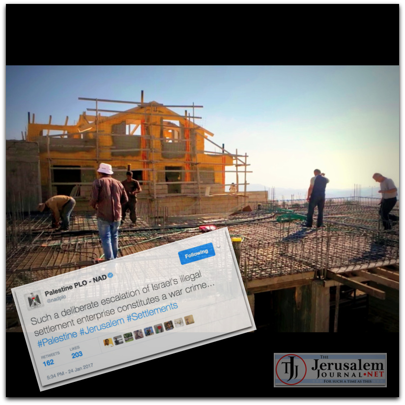 Montage Building homes in Israels biblical heartland Photo YT screenshot Wochit News channel