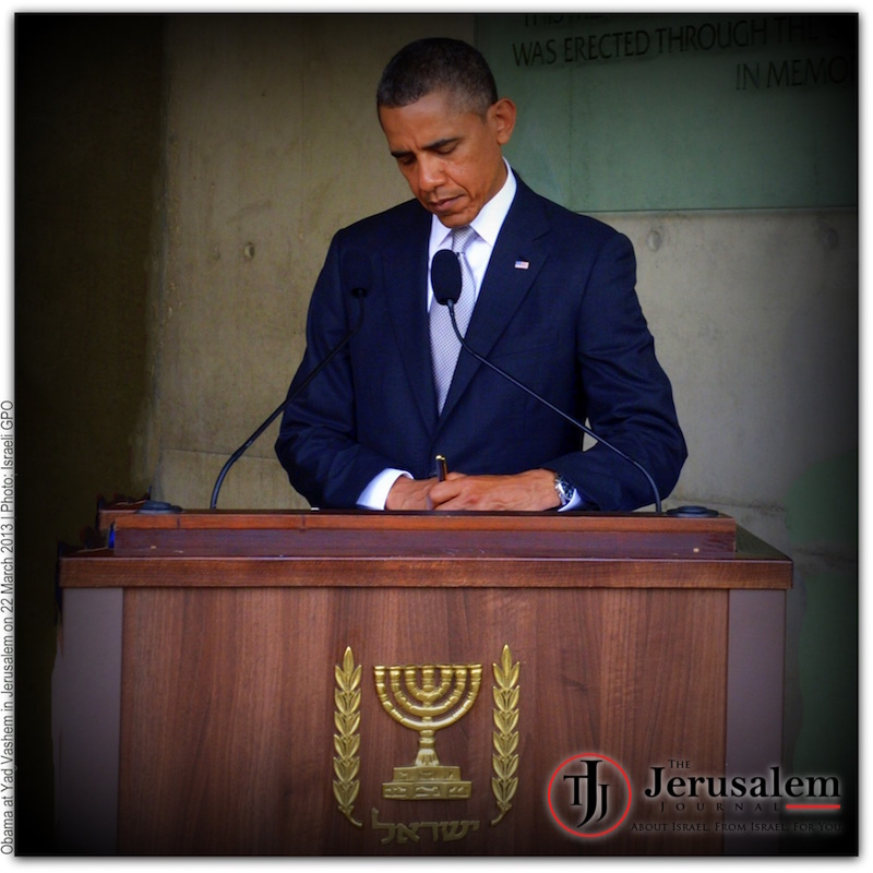 Obama in Jerusalem on 23 March 2013 Photo Israeli GPO