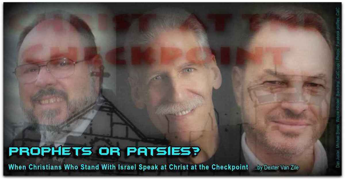 Prophets or Patsies by Dexter Van Zile Photo Dan Jester Michael Brown Wayne Hilsden from FB profiles