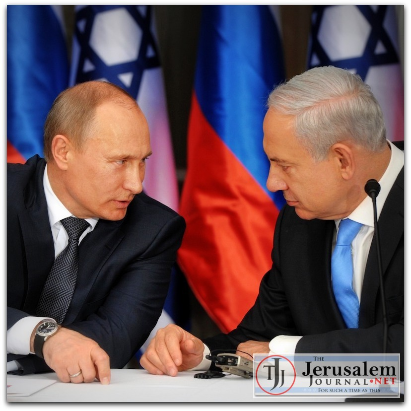Putin and Netanyahu in 2012 Photo Israeli GPO LOGO
