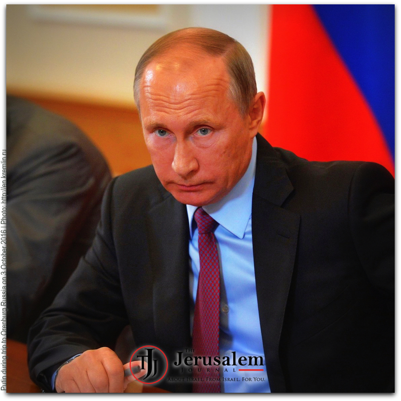 Putin on 3 October 2016 Photo Kremlin website LOGO