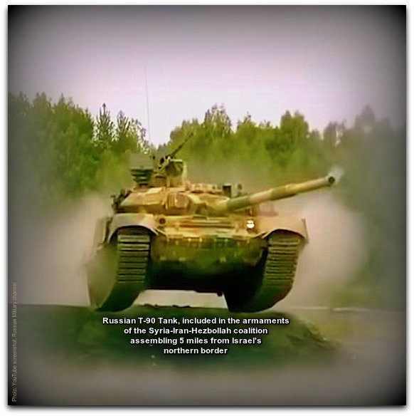 Russian T 90 tank in action Photo YouTube screenshot Russian Military channel