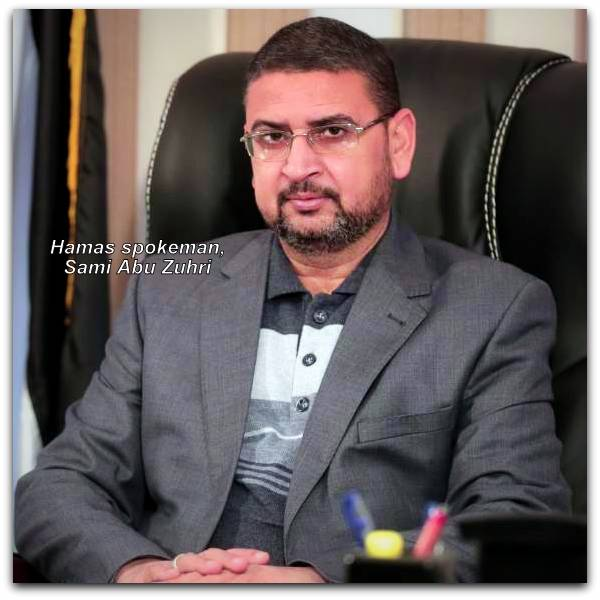 Sami Abu Zuhri Spokesperson for Islamic Resistance Movement Hamas Photo Islamic Resistance Movement English website