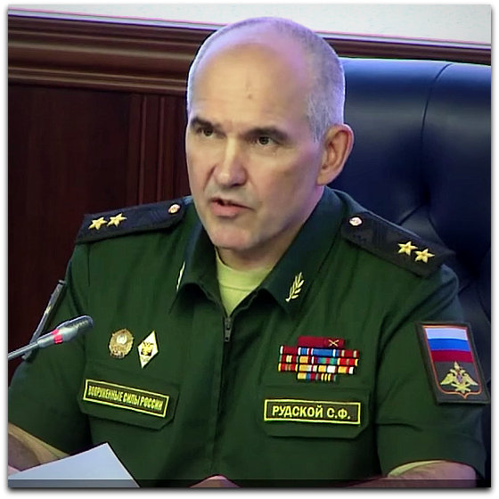 Sergei Rudskoy Russian Defense Ministry on shooting down of Russian helicopter on 1 August 2016 | Photo: YouTube screenshot Pigmine 2 channel