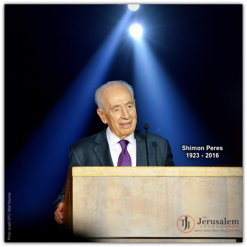 Shimon Peres | Photo Israel GPO Mark Neyman