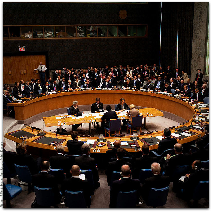 UN Security Council Photo US White House Pete Souza Maison Blanche Public Domain