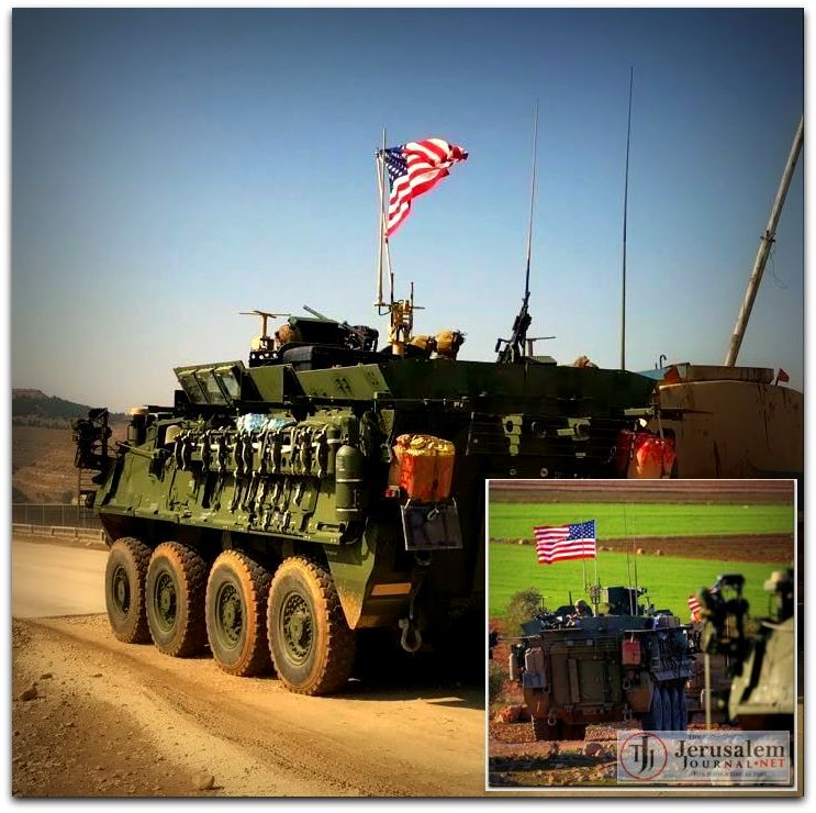 US forces enter Manbij Syria Photo Hawar News ANHA LOGO