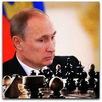 Putin as Chess Grandmaster | Photo: debkafile.com
