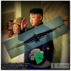 ATOMIC FUSE? US NUKE BOMBERS TOWARD N. KOREA, ALLY OF IRAN, ENEMY OF ISRAEL