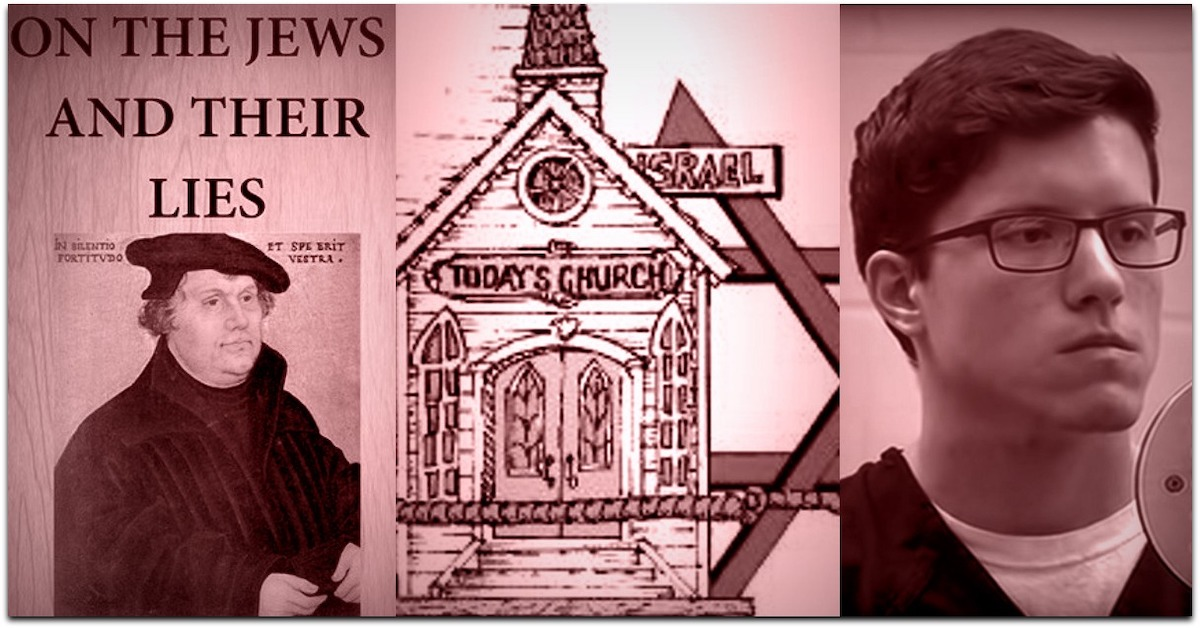 Martin Luther, Replacement Theology graph, San Diego shooter | Photos: screenshots