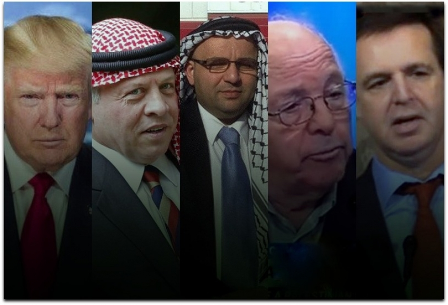 UNDER THE GAVEL: Battle in Jerusalem over 'Jordan Option' for Peace in the Middle East ...by Brian Schrauger